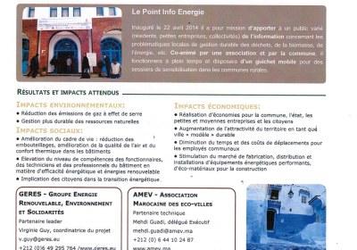 Centre  Info Energie de Chefchaouen