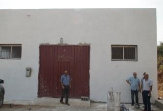 زيارة تفقدية لأشغال بناء وحدة تخزين لمنتوج البصل