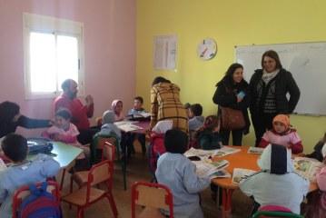 زيارة تفقدية للوحدة المدرسية للتعليم الأولي بدوار كرداد