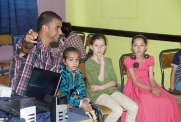 ورشة مسرحية لفائدة رواد وأطفال الجمعية